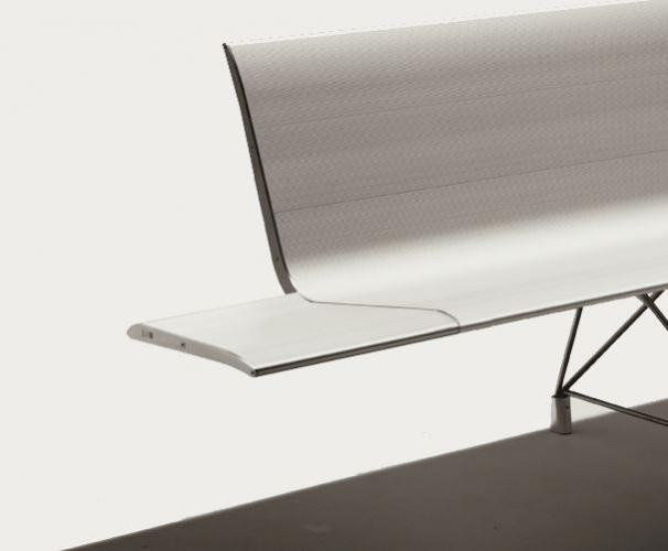 Sellex's  AERO Bench Selfstanding by Lievore Altherr Molina